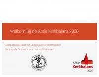 CvK Actie Kerkbalans 15 januari 2020